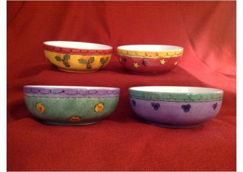 Christmas Soup Bowls - Set of 4