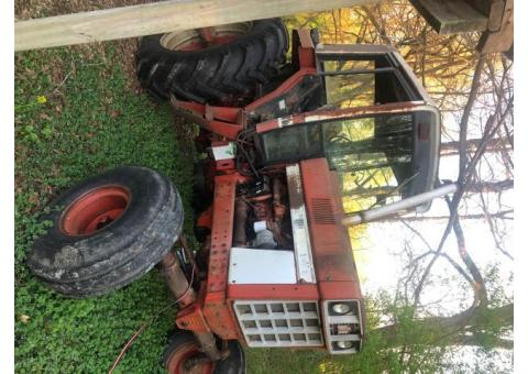 International tractor and planter and implements